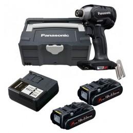 Panasonic EY76A1PN2G Κατσαβίδι παλμικό 18V 3,0Ah ιόντων λιθίου  ΕΡΓΑΛΕΙΑ ΗΛΕΚΤΡΙΚΑ - ΜΠΑΤΑΡΙΑΣ